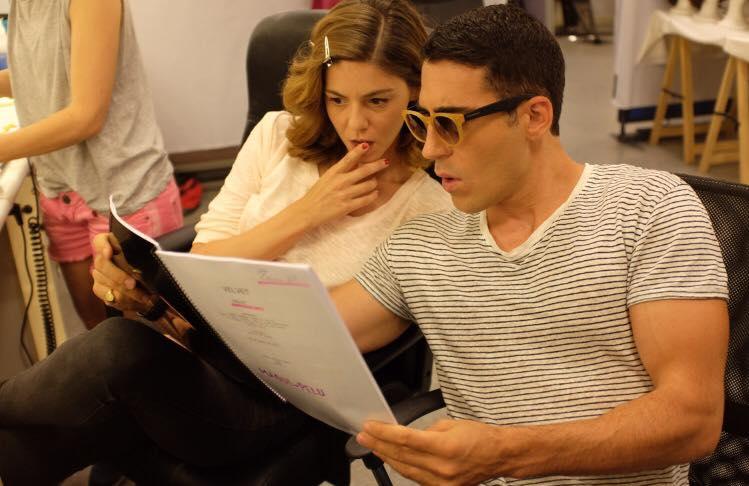 Miguel Ángel Silvestre luce gafas del modelo DQ0189_39P de DSQUAREAD2 EYEWEAR
