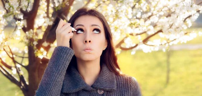 cuidar tus ojos en primavera